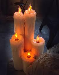outdoor flicker candles tutorial blogs halloween forum