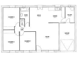 plan de maison 120m2 4 chambres plan de maison 120m2 plain pied excellent toit plat plein 4 chambres