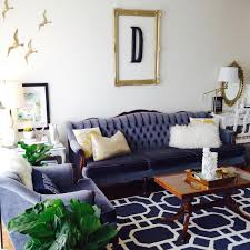 Gold Living Room Decor by Cool Down Your Design With Blue Velvet Furniture Hgtv U0027s