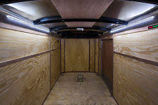enclosed trailer interior light kit horse trailer lights ebay