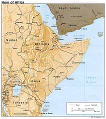 Map Pf Africa by Interopp Org Physical Map Of The Horn Of Africa Large 1992