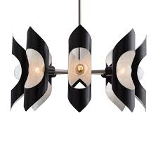 arteriors vickery chandelier single tier chandeliers