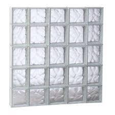 Glass Block For Basement Windows by Glass Block Windows Windows The Home Depot