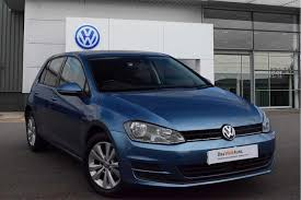 used volkswagen golf bluemotion 5 doors cars for sale motors co uk