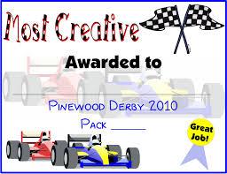pinewood derby certificate template printable online calendar
