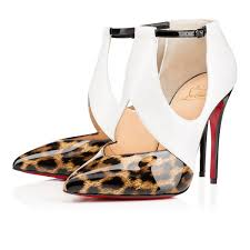 love these shoes by christian louboutin dictata 100mm brown patent