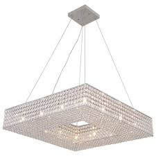 Square Ceiling Light Fixture by 24