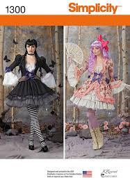 Simplicity Halloween Costumes 279 Pattern Mayhem Images Costume Patterns