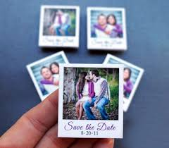 diy save the date magnets save the date ideas 100 custom mini polaroid magnets 2062100