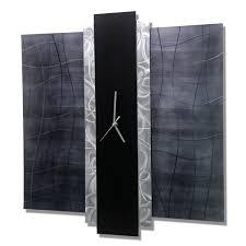 time eternal metal art wall clock by jon allen 24