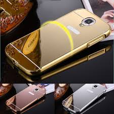 luxury mirror armor back cover for samsung galaxy s4 mini