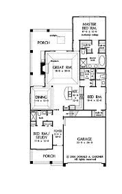 narrow home floor plans best narrow lot house plans homes floor plans