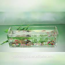 Goldfish Bowl Vase Mini Clear Glass Fish Bowl Customized Goldfish Glass Aquarium
