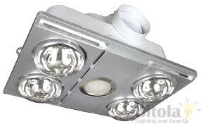3 In 1 Bathroom Light Supernova 4 Led Bathroom Mate 3 In 1 Heat Light Exhaust Fan 11w
