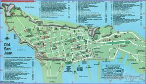 san juan map san juan map tourist attractions map travel