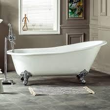 Cast Bathtub Nh 1002 1 Flat Rim Slipper Cast Iron Bath Tub Cast Iron Clawfoot