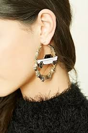 Cheap Chandeliers Under 50 The Best Cheap Statement Earrings Under 50 Glamour