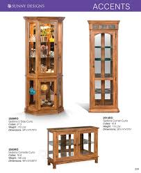 Sunny Design Furniture Sunny Designs Curio Cabinets With Prices U2022 Al U0027s Woodcraft