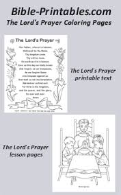 the lord u0027s prayer coloring pages bible printables