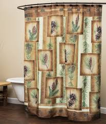 rustic shower curtains moose bear pinecone designs mybktouch with