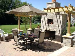 brown walmart patio umbrella with elegant stand for outdoor