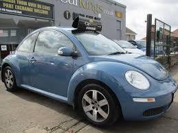 blue volkswagen beetle used volkswagen beetle hatchback 1 6 luna 3dr in bristol avon