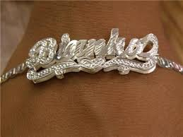 personalized name bracelets silver plated any name bracelet personalized a1 nikfine
