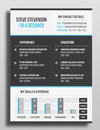 building a resume website design a resume with indesign cc