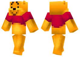 winnie pooh minecraft skins