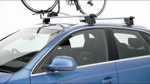 Audi Q5 Kayak Rack - audi genuine accessories u2013 q3 roof bars youtube