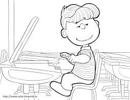 peanuts coloring pages free printable peanuts pdf coloring
