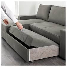 Sofa Bed Chaise Lounge Bed Luxus Vilasund Sofa Bed With Chaise Longue Borred Grey For
