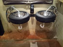 garage bathroom ideas ford s garage mustangers and the coolest bathrooms