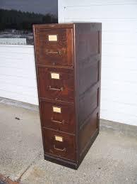 Vintage Oak Filing Cabinet Antique Oak File Cabinet 4 Drawer With Vintage British Kenrick And