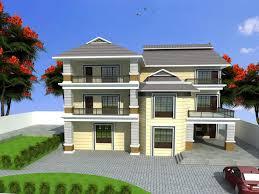 Single Floor House Designs Kerala by 4 Bedroom Single Story House Plans Kerala House And Home Design