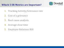 5 employee relations metrics you should be tracking u0026 why
