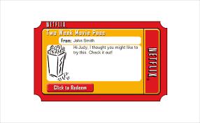 movie gift certificate template 5 netflix gift certificate