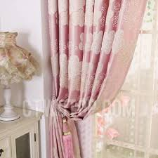 Pink Flower Curtains Flower Pink Panel Curtains For Bedrooms