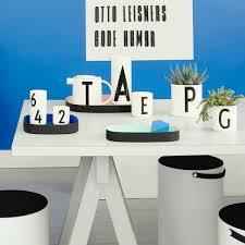 aj porcelain cups by design letters