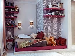 kids room cool teen girls beds design with alphabets wallpaper