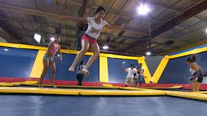 Safest Trampoline For Backyard by How Safe Are Trampoline Parks Mother Who Lost Son Pushes For