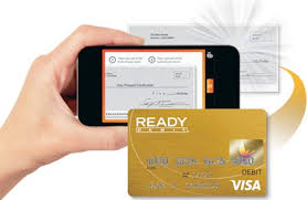 ready prepaid card mobile check deposit prepaid cards readydebit gold ready