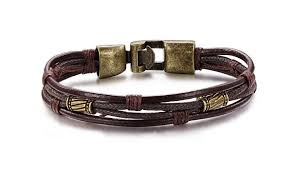 leather bracelet images Leather bracelet for men retro style men 39 s leather bracelet jpg