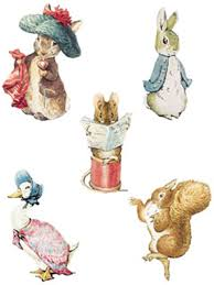 rabbit by beatrix potter w12910 12910 beatrix potter characters wallies wallpaper cutouts