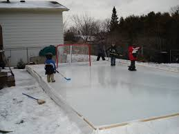 Backyard Rink Liner why houseleague hockey players could benefit from a backyard ice rink