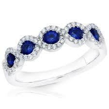 right ring garelick criss cross blue sapphire diamond right