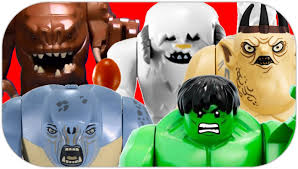 ultimate battle royale of the big figs lego comparison review