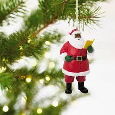 mahogany santa hallmark ornament specialty ornaments hallmark