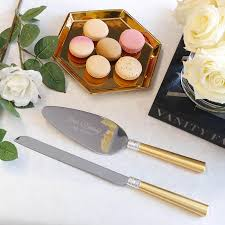 wedding gift knife set vera wang with gold wedding cake knife and server set 2 pc