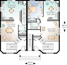 plan w21428dr three unit apartment house plan e architectural